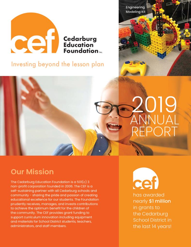 2019 CEF Annual Report